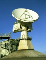 FPQ-6 Radar Antenna: Photo; Hamish Lindsay