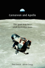 Book cover, 2010, shows - 'The return of the Eagle'; Photo: NASA;  Cover: Catrionadesign.
